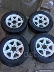 Комплект колес 215/70 R15 Hiace Regius Touring Hiace Grand Hiace Surf. 7.0x15 6x139.70 ET3 ЦО 110,0мм.