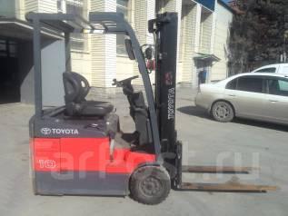 Toyota 7FBE10. Продается электропогрузчик , 2007г., 1 200 кг.