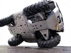Защита днища квадроцикла (Алюминий / Сталь). Dodge Stealth Сибмаш Полярис
