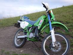 Kawasaki KDX 200. 200 куб. см., исправен, птс, с пробегом