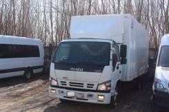 Isuzu NQR. Isuzu, исузу NQR-75, 2012г. в., 124915 км, промтов. фургон, 1099000 р., 5 200 куб. см., 3 955 кг.