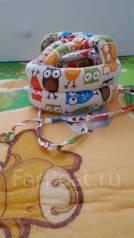 Шапки-шлемы. Рост: 68-74, 74-80, 80-86 см