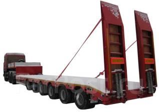 Steelbear. Полуприцеп-тяжеловоз TR-61, 80 000кг. Под заказ