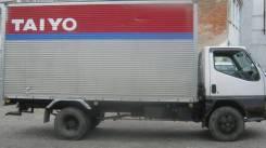 Mitsubishi Canter. Хороший фургон в Спасске-Дальнем, 4 200 куб. см., 3 000 кг.
