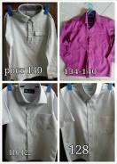 Рубашки. Рост: 110-116, 116-122, 122-128, 128-134, 134-140 см