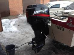 Mercury. 90,00л.с., 2х тактный, бензин, нога L (508 мм), Год: 2004 год
