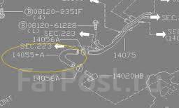 Патрубок радиатора. Nissan Skyline, BNR32 Nissan GT-R Двигатель RB26DTT