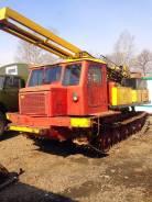 АТЗ ТТ-4. Буровая УРБ-2A-2 на базе ТТ-4, 1 000 кг.