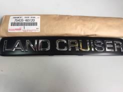 Эмблема. Toyota Land Cruiser Prado, KDJ125, GRJ120, KDJ120, GRJ125 Двигатели: 1GRFE, 1KDFTV