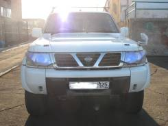Nissan Safari. автомат, 4wd, 4.5 (200 л.с.), бензин, 130 000 тыс. км