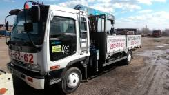 Isuzu Forward. Продается грузовик с манипулятором , 7 200 куб. см., 5 000 кг.