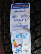 Maxtrek SU-800. Летние, 2017 год, без износа, 4 шт