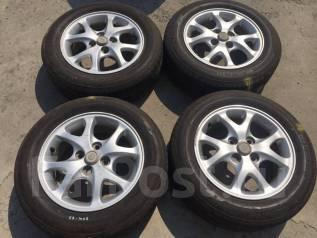 175/65 R14 Bridgestone Nextry литые диски 4х100 (К8-1407). 5.5x14 4x100.00 ET45