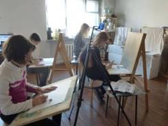 Занятия по рисунку, живописи, композиции с 12 лет