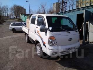 Kia Bongo III. Двухкабинный грузовик супер салон, 160.000 пробег, 3 000 куб. см., 1 000 кг.