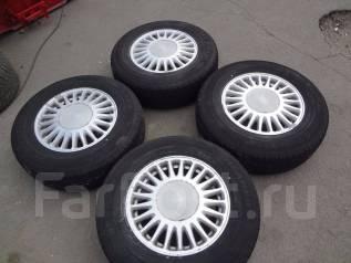 Комплект колес toyota R15 c шинами 215/70/15. 6.5x15 5x114.30 ET50
