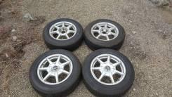 Колеса R16, литье+летняя отличная резина!. x16