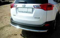 Защита бампера. Toyota RAV4