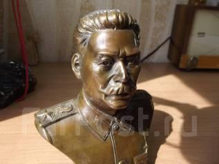 Бюст Иосиф Сталин бронза. Оригинал
