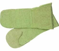 Перчатки брезентовые.