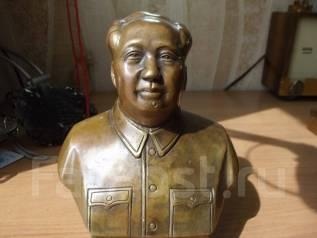 Бюст Мао Цзэдун бронза. Оригинал