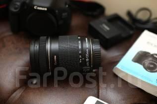 Объектив Canon EF-S 18-135 mm f/3.5-5.6 IS + фильтр и бленда. Для Canon, диаметр фильтра 67 мм