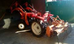 Yanmar. Мини-трактор Янмар ВД кун, фреза.