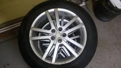 Колеса Dunlop в сборе 215/60 R17 сверловка 5х100. 7.0x17 5x100.00 ET48