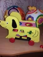 Деревянная игрушка для малышей сортер