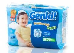 Genki. 9-14 кг 30 шт
