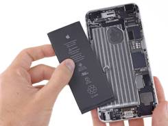 Ремонт телефонов. Замена батареи iPhone 4,5,6,7, Samsung, Xiaomi, SONY