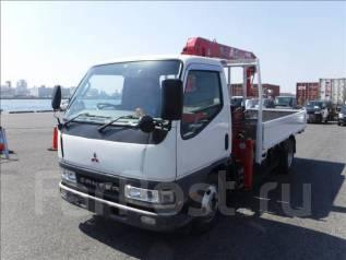 Mitsubishi Canter. бортовой с манипулятором, 5 200 куб. см., 2 500 кг. Под заказ