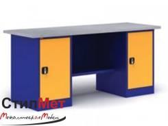 Верстак металлический ВП-5/1.6 Габаритные размеры:1600х685х860 в наличии на складе