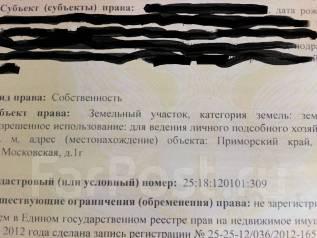 Продам зем участок на Трассе Владивосток-Хабаровск. 35 000 кв.м., собственность, электричество, от агентства недвижимости (посредник). Фото участка