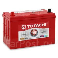 Totachi. 95 А.ч., правое крепление, производство Корея