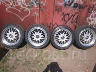 Разноширокие облегченные колеса BBS. 9.0/8.0x17 5x114.30 ET45/40