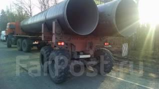 Камаз. Тягач трубоплетевозный 4456L5 , 12 343 куб. см., 20 000 кг.