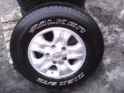 Продам колеса с летними шинами 275/65 R17. x17 5x98.00 ET60 ЦО 110,0мм.
