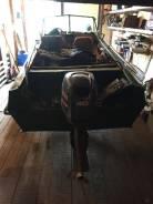 Казанка-5М2. Год: 2014 год, длина 4,60м., двигатель подвесной, 40,00л.с., бензин