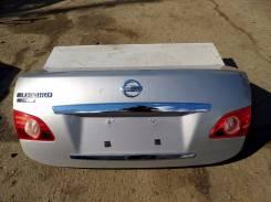 Крышка багажника. Nissan Bluebird Sylphy, KG11 Двигатели: MR20DE, MR20