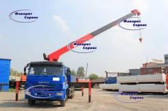 Камаз 65117. Новый бортовой Камаз-65117 с краном-манипулятором 7 тонн (Корея), 6 700 куб. см., 7 000 кг.