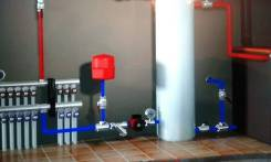 Монтаж любых систем отопления