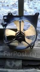 Вентилятор охлаждения радиатора. Toyota Corona Exiv, ST202