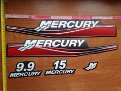 Наклейки на лодочный мотор Меркурий mercury