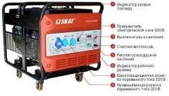 Генератор (электростанция) 6 кВт: прокат, аренда
