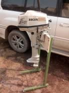 Honda. 5,00л.с., 4-тактный, бензиновый, нога L (508 мм), Год: 2008 год