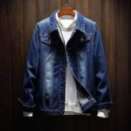 Куртки джинсовые. 42, 44, 46, 48, 50, 52, 54. Под заказ