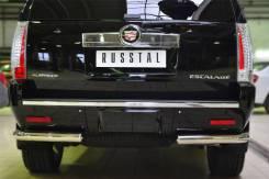 Защита бампера. Cadillac Escalade, GMT900 Двигатели: LZ1, L92, L94. Под заказ
