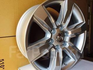 Toyota. 7.5x18, 6x139.70, ET25, ЦО 106,0мм.