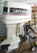 Johnson. 140,00л.с., 2х тактный, бензин, нога L (508 мм), Год: 1994 год